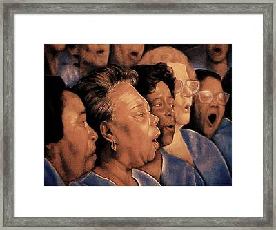 O' Happy Day Framed Print by Curtis James
