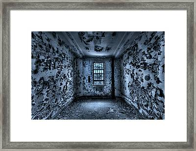 Panic Room Framed Print by Evelina Kremsdorf