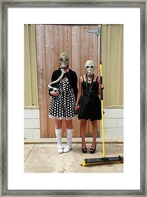 Post Nuclear Winter Gothic Framed Print by Michael Ledray