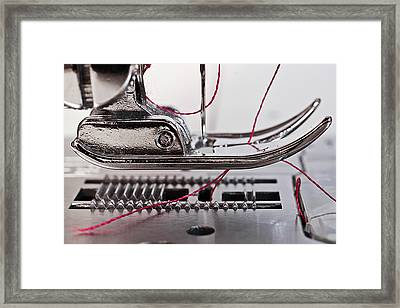 Sew What Framed Print by Patrick English