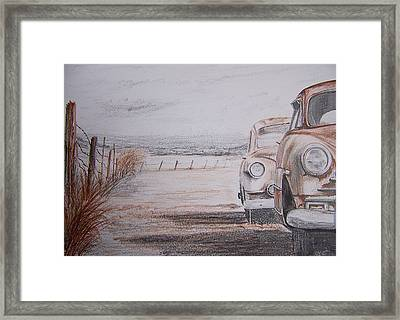 Slow Demise Framed Print by Terence John Cleary