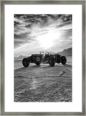Speed Week Roadster Framed Print by Holly Martin