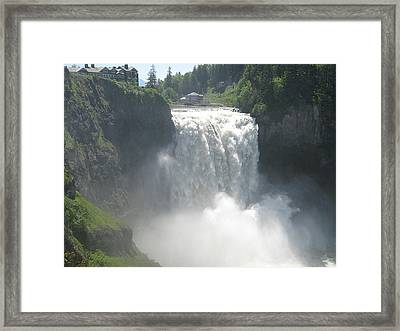 Spring In Snoqualmie Framed Print by Wendi Matson