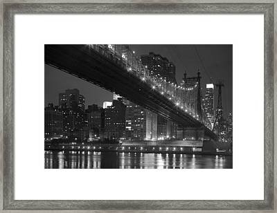 The 59th Street Bridge Framed Print by Andria Patino