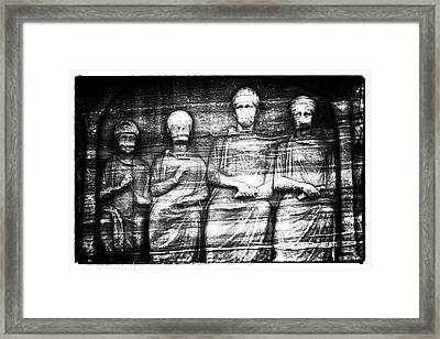 The Ancients Framed Print by John Rizzuto