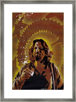 The Dude Framed Print by Tai Taeoalii