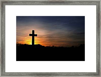 The Heavens Declare The Glory Of God Framed Print by Benanne Stiens
