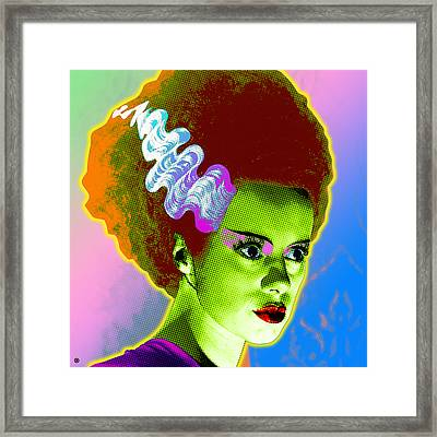The Monster's Bride Framed Print by Gary Grayson