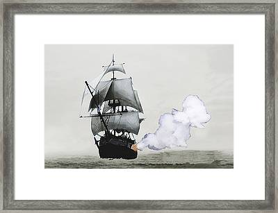 The Old Pirate Framed Print by Tyler Martin