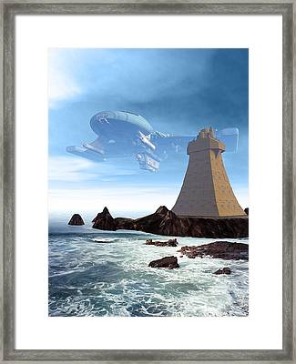 The Unguided Framed Print by Michael Knight
