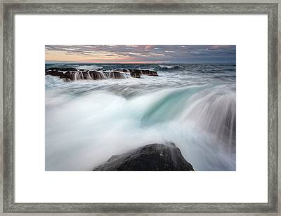 The Wave Framed Print by Evgeni Dinev