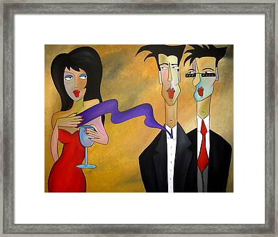 Tres Chic Framed Print by Tom Fedro - Fidostudio