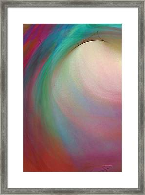 Tropical Motion Framed Print by Wally Boggus
