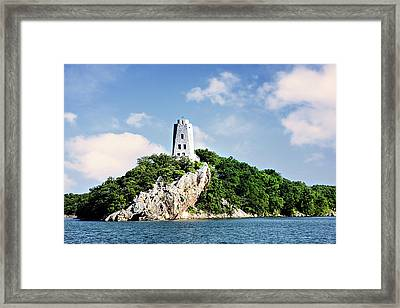 Tucker Tower 2 Framed Print by Lana Trussell