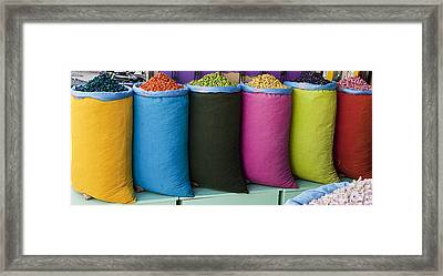 Variety Is The Spice Of Life Framed Print by Marion Galt