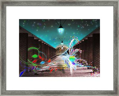 Visitors Framed Print by Svetlana Sewell