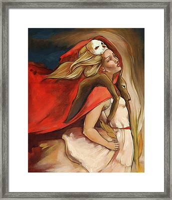 Who Carries Who Framed Print by Jacque Hudson