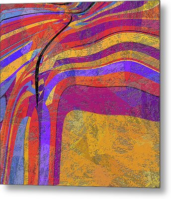 0871 Abstract Thought Metal Print by Chowdary V Arikatla