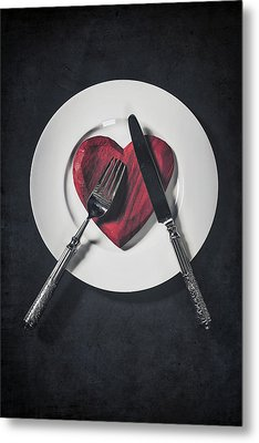 Cooking With Love Metal Print by Joana Kruse