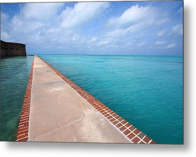Fort Jefferson At Dry Tortugas National Park Metal Print by Jetson Nguyen