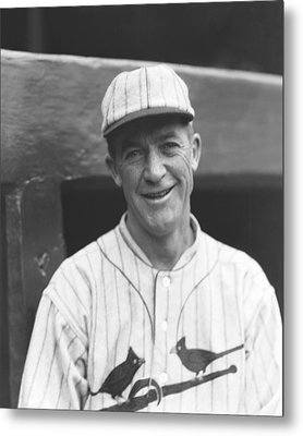 Grover Cleveland Alexander Metal Print by Retro Images Archive