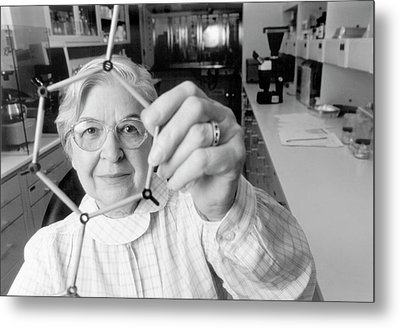 Stephanie Kwolek Metal Print by Hagley Museum And Archive