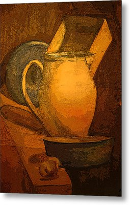 Still Life Metal Print by Jolanta Erlate
