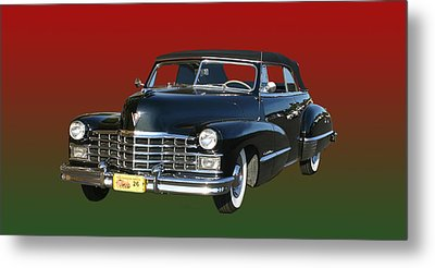 1947 Cadillac Sixty Two Convertible Metal Print by Jack Pumphrey