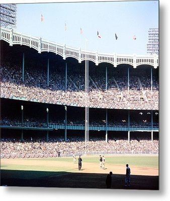 1961 World Series Metal Print by Retro Images Archive