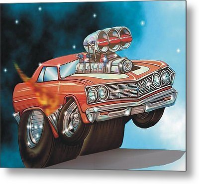 67 Chevelle Metal Print by Christopher Fresquez