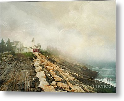 A Morning In Maine 2 Metal Print by Darren Fisher
