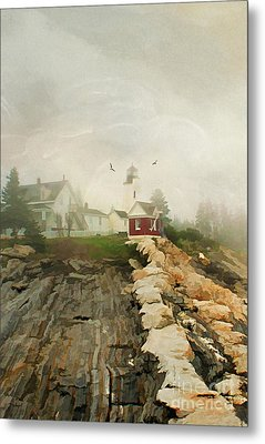 A Morning In Maine Metal Print by Darren Fisher