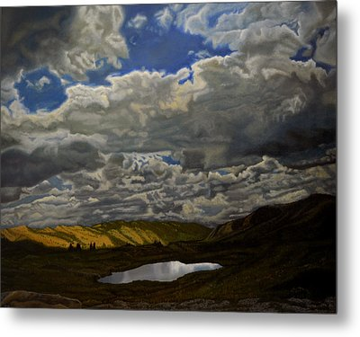 A Summer Day On Cottonwood Pass Metal Print by Thu Nguyen