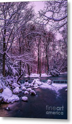 a winter's tale I - hdr Metal Print by Hannes Cmarits