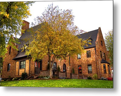 Alpha Tau Omega Fraternity At Washington State University Metal Print by David Patterson