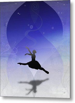 Ballet In Solitude  Metal Print by Bedros Awak
