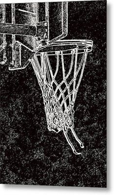 Basketball Years Metal Print by Karol Livote