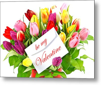 Be My Valentine Metal Print by Boon Mee