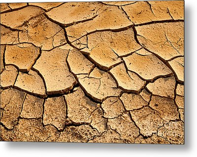 Beautiful Dry Land Metal Print by Boon Mee