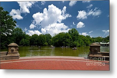 Bethesda Terrace Central Park New York Metal Print by Amy Cicconi