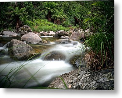 Between Fire And Tempest Metal Print by Mark Lucey