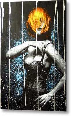 Came Back Haunted Metal Print by Bobby Zeik