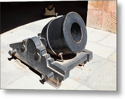 Cannon At San Francisco Fort Point 5d21489 Metal Print by Wingsdomain Art and Photography