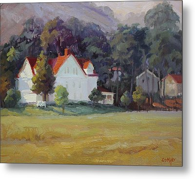 Cavallo Point Metal Print by Carol Smith Myer