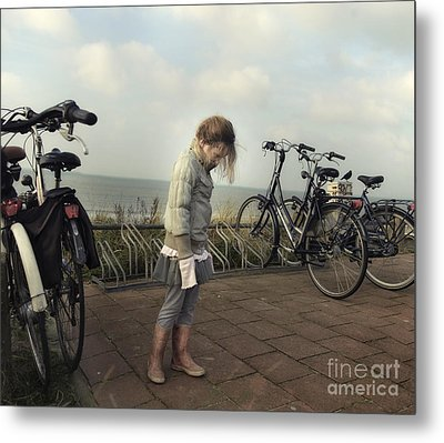 Child In Time Metal Print by Michel Verhoef