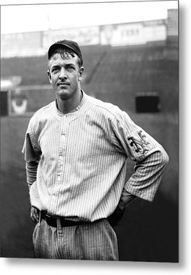Christopher Christy Mathewson Metal Print by Retro Images Archive