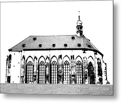 Church Of The Virgin Mary Of Snow Metal Print by Michal Boubin
