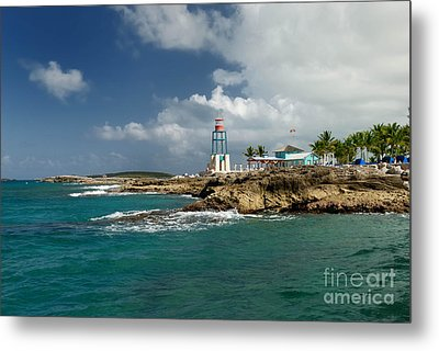 Coco Cay Bahamas Metal Print by Amy Cicconi
