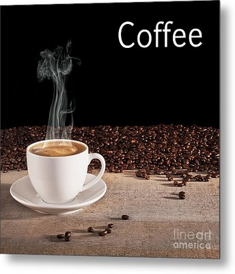 Coffee Concept Metal Print by Colin and Linda McKie