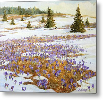 Cold Weather Is Going Away Metal Print by Kiril Stanchev